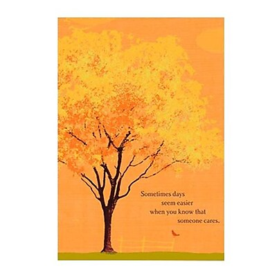 Hallmark Cope Greeting Card Sometimes Days Seem Easier When You Know that Someone Cares 0250QFR1694