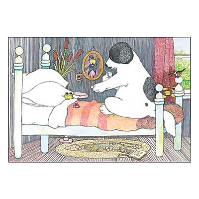 Hallmark Get Well Greeting Card Hope You?re up and Jumping Around Soon 0250QGW1703