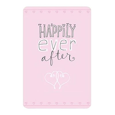 Hallmark Wedding Greeting Card Happily Ever After 0250QUW4505