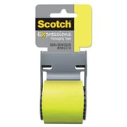 """Scotch® Decorative Shipping Packing Tape,Green, 1.88"""" x 13.8 Yd."""