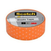 3M™ Scotch® Expressions Washi Tape, 11 yds., Orange (C314-P39)