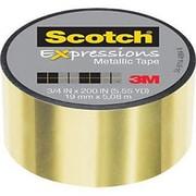 3M™ Scotch® Expressions Metallic Tape, 5.55 yds., Gold (C414-GLD)