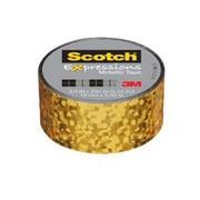 3M™ Scotch® Expressions Metallic Tape, 5.55 yds., Gold (C414-P4)