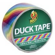 Duck® Printed Duct Tape, 10 yds. Multicolor (281427)