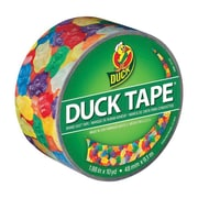 Duck® Printed Duct Tape, 10 yds. Multicolor (282495)