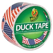 Duck® Printed Duct Tape, 10 yds. Multicolor (283046)