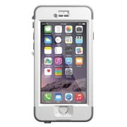 LifeProof NUUD Waterproof Case for iPhone 6, White/Gray (ZN0924)