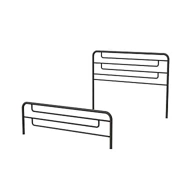 Amisco (14387-54TPLC/51) Pier Full Size Metal Headboard & Footboard 54