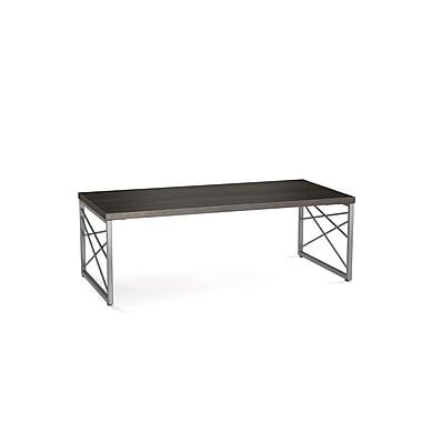 Amisco (52341-WE/2498) Brinkley Metal/Birch Wood Veneer Coffee Table
