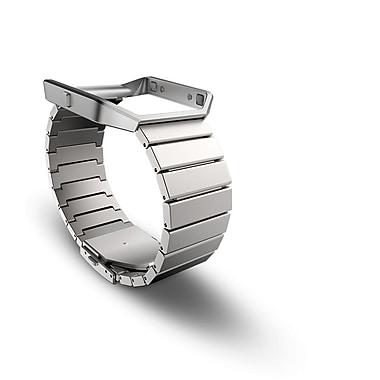 Fitbit – Bracelet accessoire Blaze, métal, argent