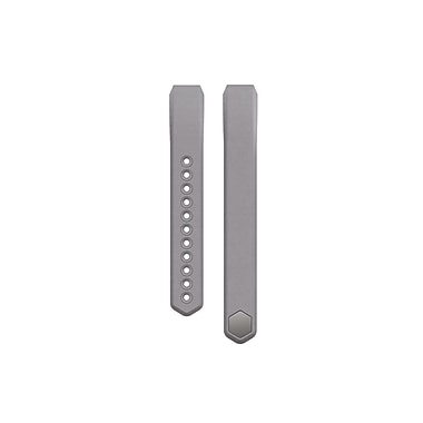 Fitbit Alta Leather Accessory Band, Graphite, Large
