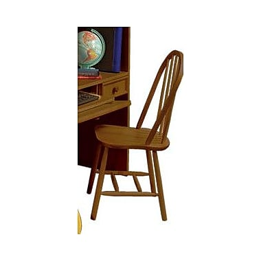 Bolton Furniture Mission Traditional Bow Back Desk Chair; Cherry