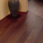 Mats Inc. Floorworks 6'' x 36'' x 3.05mm Luxury Vinyl Plank in Cherry Walnut