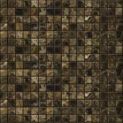 Emser Tile Natural Stone 0.5'' x 0.5'' Marble Mosaic Tile in Emperador Dark