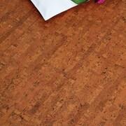 APC Cork Colors 12'' Engineered Cork Hardwood Flooring in Titan Brown