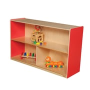 Wood Designs Versatile Single Storage Unit; Strawberry Red
