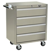 Viper Tool Storage 26.5'' Wide 4 Drawer Bottom Cabinet; Stainless Steel