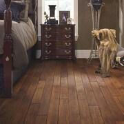 Forest Valley Flooring Chimney Rock 4'' Solid Hickory Hardwood Flooring in Caravan