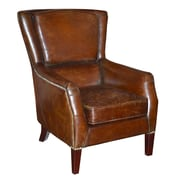 Moe's Home Collection Chester Leather Lounge Chair
