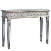 Elegant Lighting Audrey Console Table; Silver