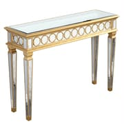 Elegant Lighting Audrey Console Table; Gold