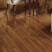 Bruce Flooring Fulton 2-1/4'' Solid Red / White Oak Hardwood Flooring in Gunstock