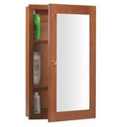 Ronbow Neo Classic Modular 29'' H x  18'' W Cinnamon Medicine Cabinet