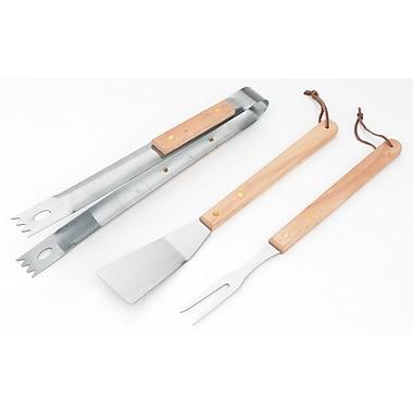 KitchenWorthy 3-Piece Barbecue Tool Set