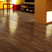 Islander Flooring 4'' Engineered Bamboo Hardwood Flooring in Carbonized