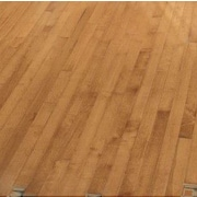 Forest Valley Flooring 2-1/4'' Solid Light Maple Hardwood Flooring in Caramel
