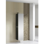 Fine Fixtures Sundance High Gloss 15.75'' W x 64.88'' H Wall Mounted Cabinet; White