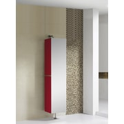 Fine Fixtures Sundance High Gloss 15.75'' W x 64.88'' H Wall Mounted Cabinet; Red