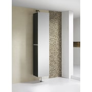 Fine Fixtures Sundance High Gloss 15.75'' W x 64.88'' H Wall Mounted Cabinet; Black