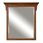 Sunny Wood Mission Oak Framed Mirror; 38'' H x 35.9'' W