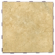 SnapStone Classic ThinLine 12'' x 12'' Porcelain Field Tile in Nutmeg