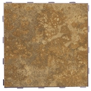 SnapStone Classic ThinLine 12'' x 12'' Porcelain Field Tile in Camel