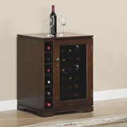 Tresanti Cabernet 18 Bottle Wine Cabinet; Coventry Cherry