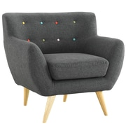 Modway Remark Arm Chair; Gray