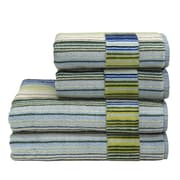 Christy Supreme Capsule Stripe Cotton Bath Towel; Blue