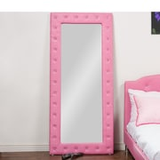 Wholesale Interiors Stella Floor Mirror; Pink