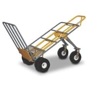 Snap-Loc 62'' x 28'' x 30'' Heavy Duty Hand Cart With 6 All-Terrrain Airless Wheel