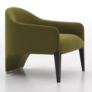 Argo Furniture Murcia Dinella Lounge Chair; Fabric Moss Green V799-436