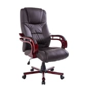 HomCom High-Back Executive Office Chair; Brown