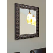 Rayne Mirrors Ava Classic Feathered Wall Mirror; 34.5'' H x 28.5'' W x 1.75'' D