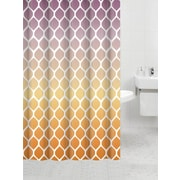 Daniels Bath Bamboo Flat Shower Curtain; River View Gold