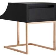 Hokku Designs Kadence End Table; Black