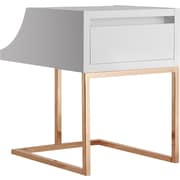 Hokku Designs Kadence End Table; White