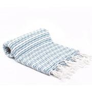 Buldano Turkish Bath Towel; Blue