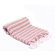 Buldano Turkish Bath Towel; Red