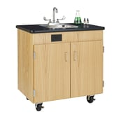 Diversified Woodcrafts Hot Water Mobile Workstation